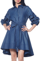 Gracia Denim Shirt Dress