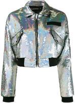 Filles a papa 'Chiara' bomber jacket - women - Polyester/PVC/Viscose/Spandex/Elastane - 1