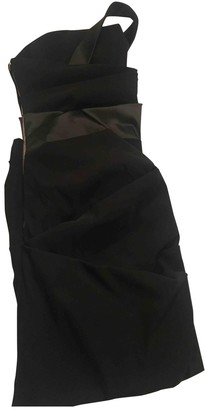 Preen Black Synthetic Dresses