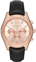 Michael Kors MK8516 Rose Gold Tone Stainless Steel 45mm Mens Watch
