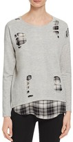 Generation Love Brooklyn Layered Plaid Top - 100% Bloomingdale's Exclusive