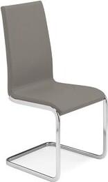 Orren Ellis Blairs Genuine Leather Upholstered Dining Chair (Set of 2