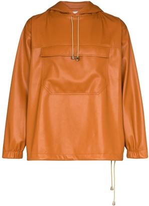 Nanushka Arno drawstring hoodie