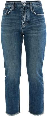 Current/Elliott The Vintage cropped slim fit jeans