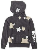 Butter Shoes Girls 4-6x) Star Zip-Up Fleece Hoodie