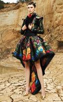 MNM Couture - 2355 Fantasy Floral Cocktail Dress with Bolero Jacket