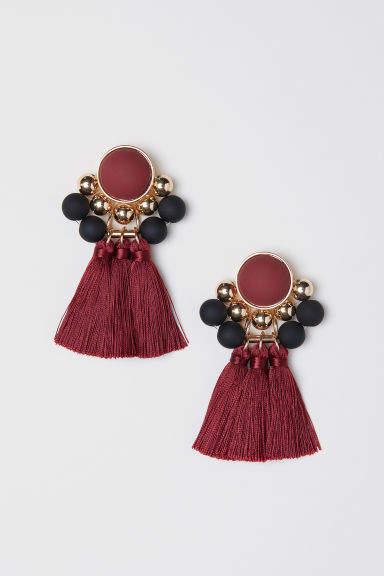 H&M Earrings - Red