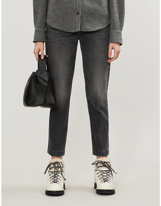Frame Le Nouveau straight mid-rise jeans