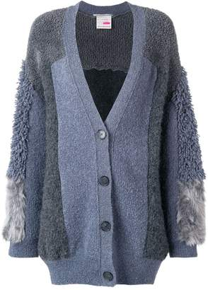 Stella McCartney furry fringed cardigan