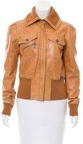 John Galliano Casual Leather Jacket