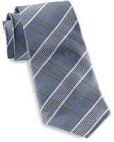 Rochester Stripe Plaid Silk Tie Casual Male XL Big & Tall