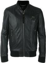 Philipp Plein bomber biker jacket