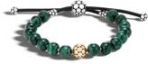 John Hardy Bead Bracelet with Golden Sheen Obsidian