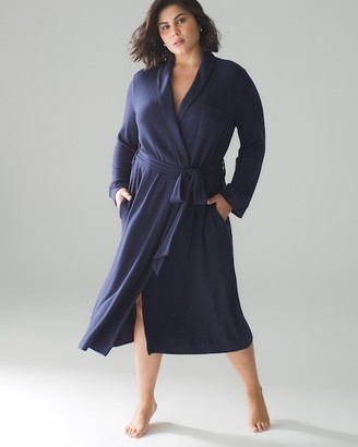 Soma Intimates Brushed Cozy Long Robe