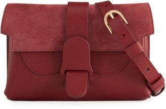 Senreve Aria Mix-Leather Belt Bag