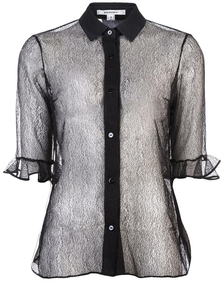 Carven Lace Shirt