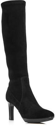 Aquatalia Women's Rhumba Tall Suede High-Heel Boots