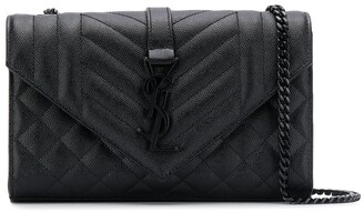 Saint Laurent small Monogram matelasse envelope crossbody bag