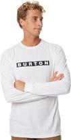 Burton Vault Ls Mens Tee White