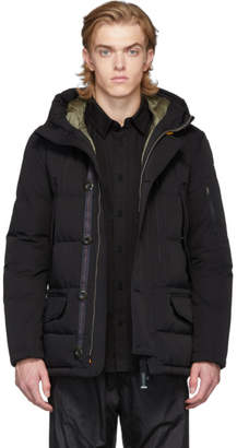 Parajumpers Black Down Rugged Marcus Jacket