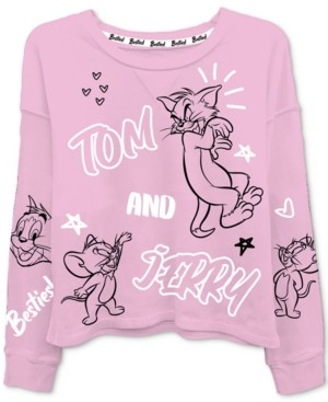 Freeze 24-7 Trendy Plus Size Tom And Jerry-Print T-Shirt