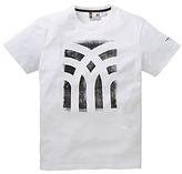 Fenchurch Charcoal Print T-Shirt Reg