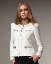 Fringe Boucle Jacket