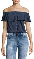 Free People Love Letter Tube Off-the-Shoulder Top