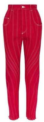 Thierry Mugler Denim trousers