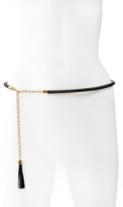 The Limited Braided Skinny Belt