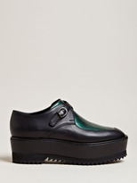 Damir Doma Women's Falka High Creeper Leather Shoes