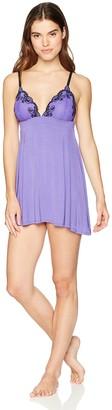 Jezebel Women's Demure Stretch Lace Chemise