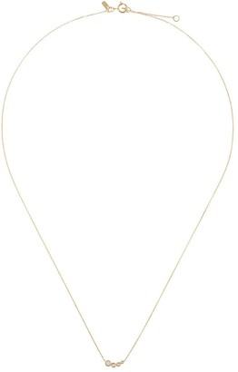 Sebastian 10kt yellow gold diamond Bloom necklace