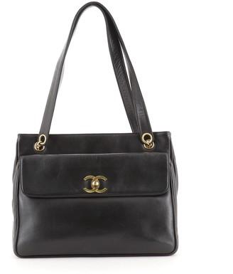 Chanel Front Pocket Tote Lambskin Medium