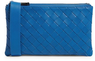 Bottega Veneta Small Shoulder Strap Clutch Bag