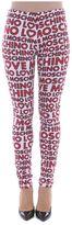 Love Moschino Printed Logo Leggings