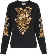 Whistles BELIZE FLORAL Jumper black