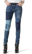 Tommy Hilfiger Patchwork Skinny Fit Jean