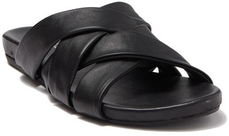 Rebels Tammy Woven Leather Slide Sandal