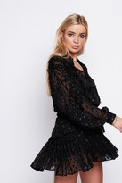 Jagger Arri London Shirt Blouse in Black Lurex