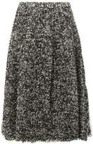 Anrealage pixelated print midi skirt