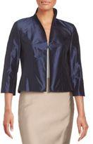Pauw Silk Cropped Jacket