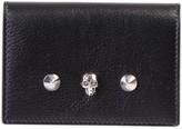 Alexander McQueen Skull Studded Wallet
