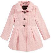 Jessica Simpson Basketweave Tweed Coat, Little Girls (2-6X)