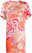 Emilio Pucci floral short dress