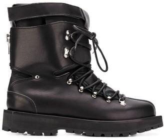 Sacai Lace-Up Ski Boots