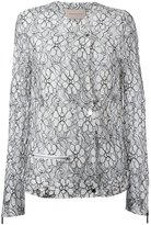 Christopher Kane Daisy lace jacket - women - Polyamide/Viscose - 46