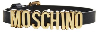 Moschino Logo Adjustable Bracelet