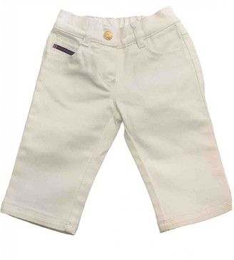 Gucci White Denim - Jeans Trousers