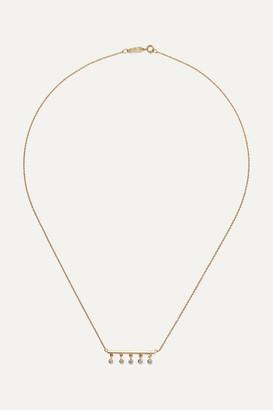 Jennifer Meyer Stick 18-karat Gold Diamond Necklace - one size